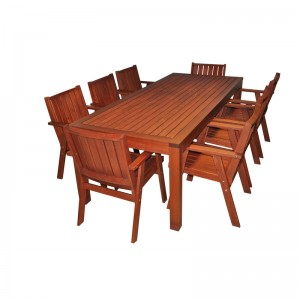 Mimosa 9pc Red Gum Timber Setting