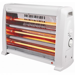 Moretti 2400W Off White Radiant Heater