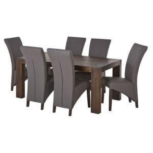 Kingston 7 Piece Dining Set with Montego Chair