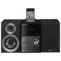 Pansonic SCPM500GNK Micro Hi-Fi System with iPod or iPhone Dock