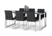 Wall Street 7 Piece Dining Suite