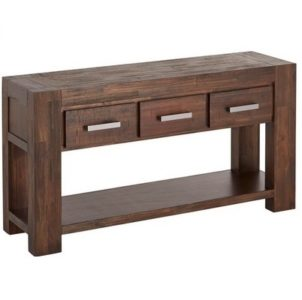 Kingston 3 Drawer Hall Table