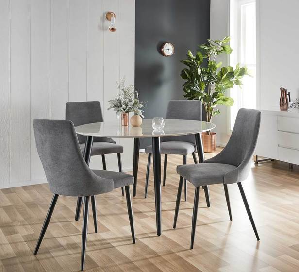 Monaco 5 Piece Dining Set With Mode Chair Rent4keeps