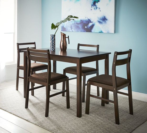Luca 5 Piece Dining Set Rent4keeps