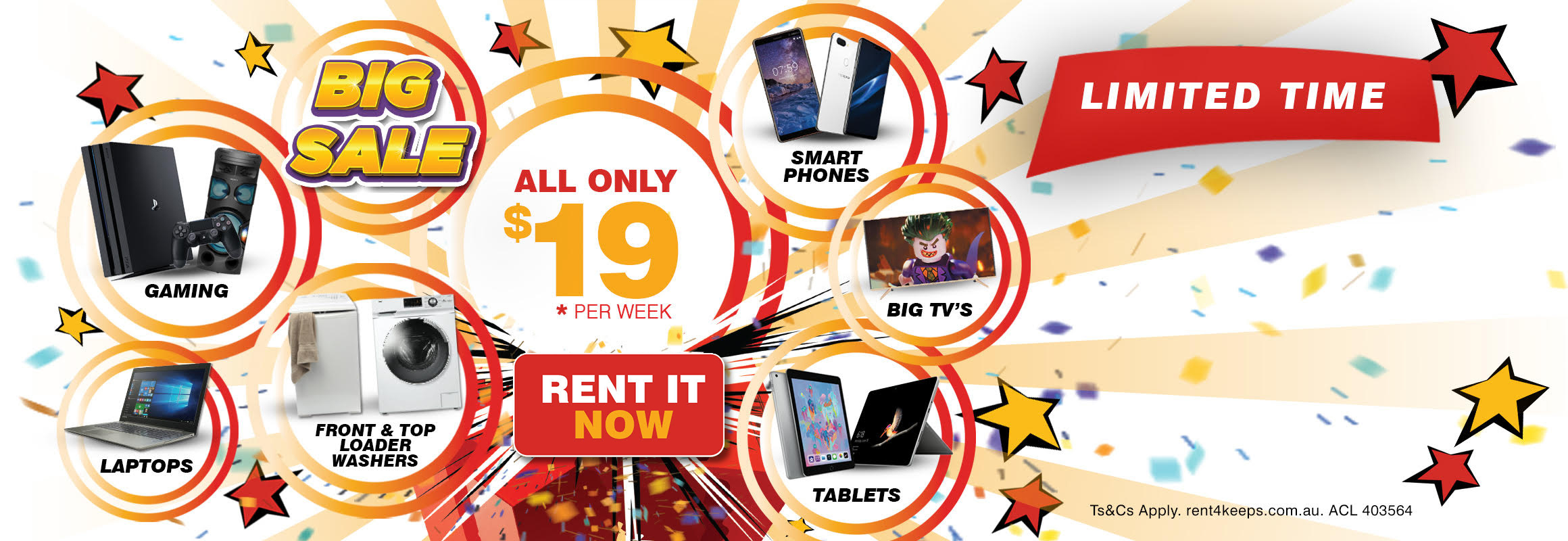 Rent4Keeps Big $19 Sale: Rent to own it now